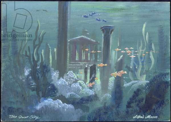 The Quiet City, Atlantis (w/c on board)