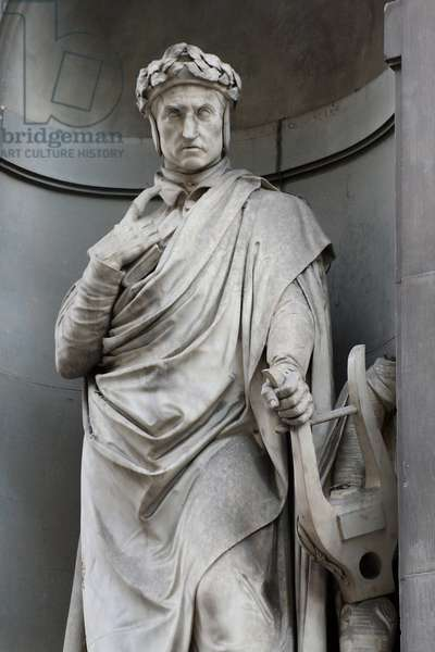 Statue of Dante Allighieri
