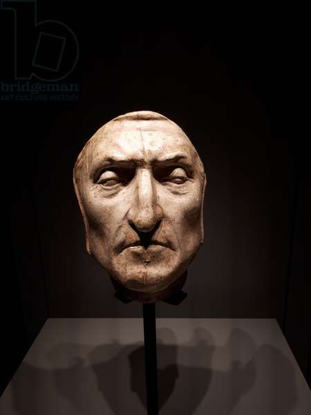 The Death Mask of Dante Alighieri