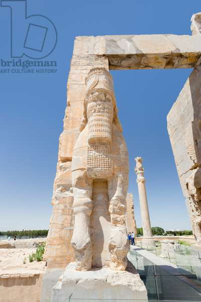 The gate of all nations, Persepolis, Iran (stone)