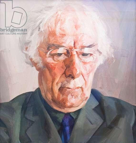 Seamus Heaney, 2004 (oil on canvas)