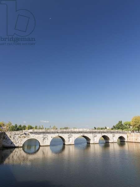 Bridge of Tiberius, 14-21 AD, Rimini, Italy