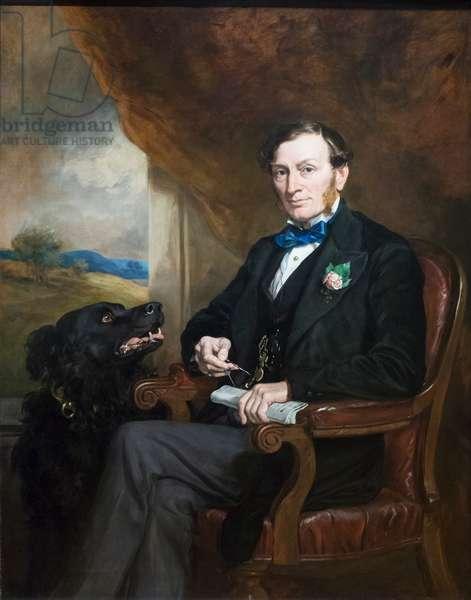 Sir Daniel Gooch, 1872 (oil on canvas)