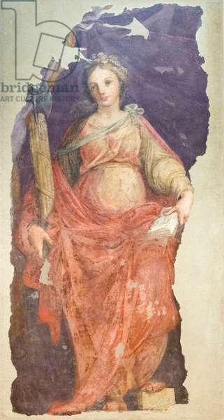Justice, 1599 circa, (oil on canvas)