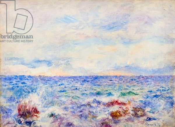 The Capri marina, c. 1881 (oil on canvas)