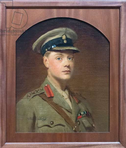 Prince Edward, Duke of Windsor as Prince of Wales, 1917 (oil on board)