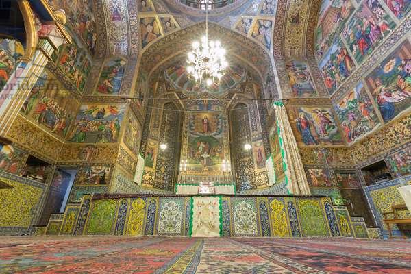 Vank cathedral, Esfahan, Iran (photo)