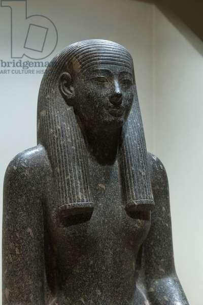 Iwnit, 1405-1367 BC, Luxor statue cache (stone)