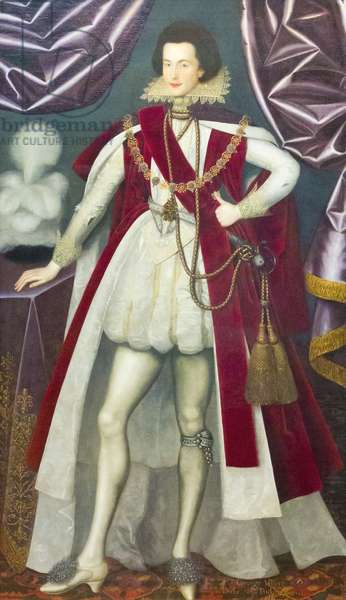 George Villiers, 1st Duke of Buckingham, c.1616 (oil on canvas)