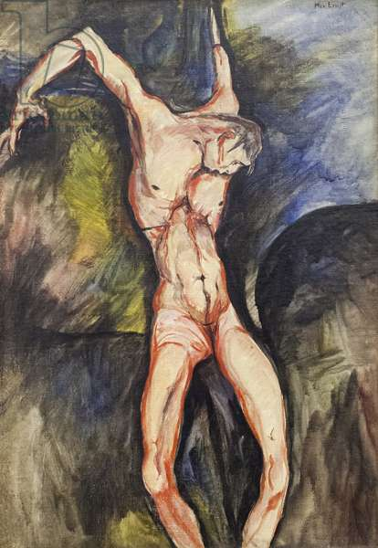 Crucifixion (oil on canvas)