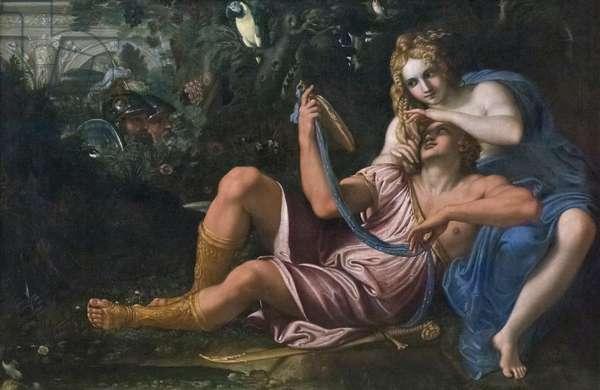 Rinaldo and Armida, 1601 circa, Annibale Carracci (oil on canvas)