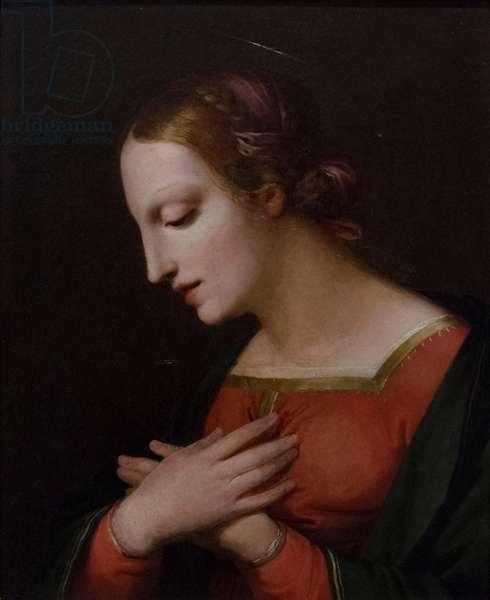 Madonna, 1822, (oil on panel)