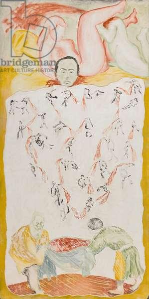 Senza titolo, 1961, Francesco Clemente (painting)