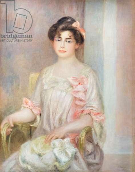 Portrait of madame Josse Bernheim-Dauberville, 1901 (oil on canvas)