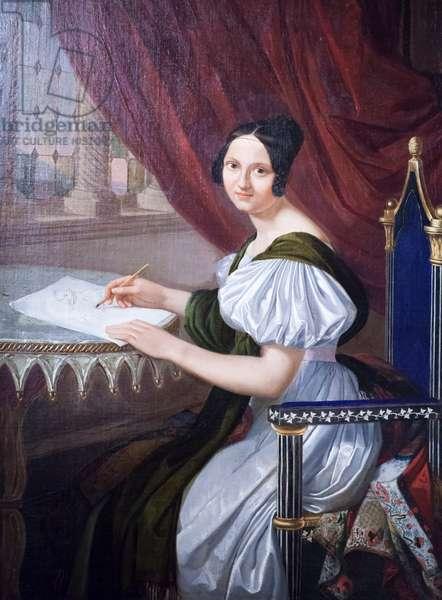 Napoleone Elisa Baciocchi, ca 1830, (oil on canvas)