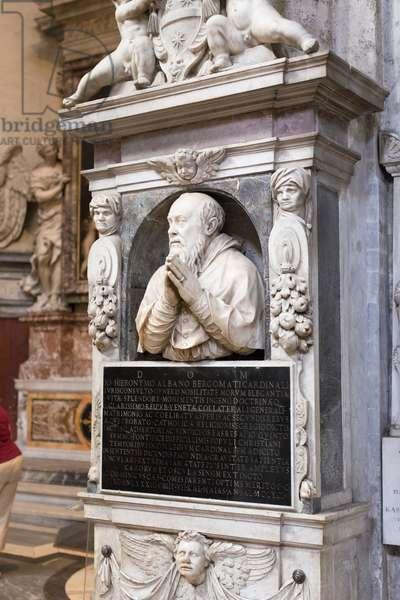 Monument to Gian Girolamo Albani, c.1591 (sculpture)