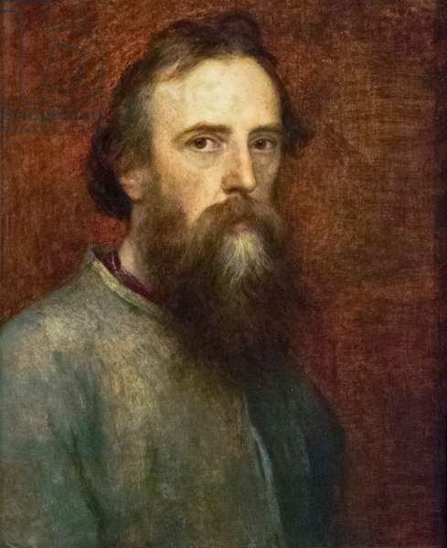 George Frederic Watts, c.1860 (oil on panel)