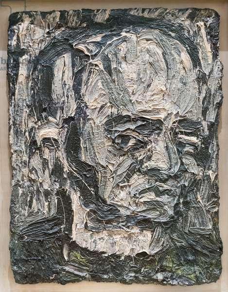 Self portrait, 1981 (oil on board)