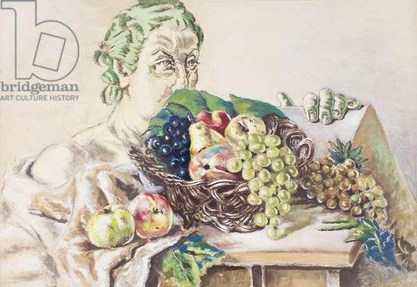 Pomona, 1951, Alberto Savinio (painting)