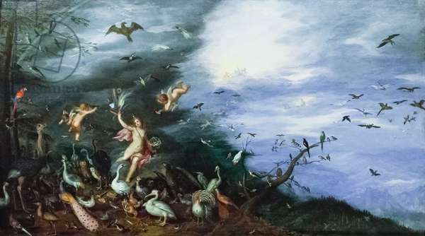 Allegory of air, (painting)
