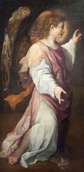 Archangel Gabriel, 1588, (oil on canvas)