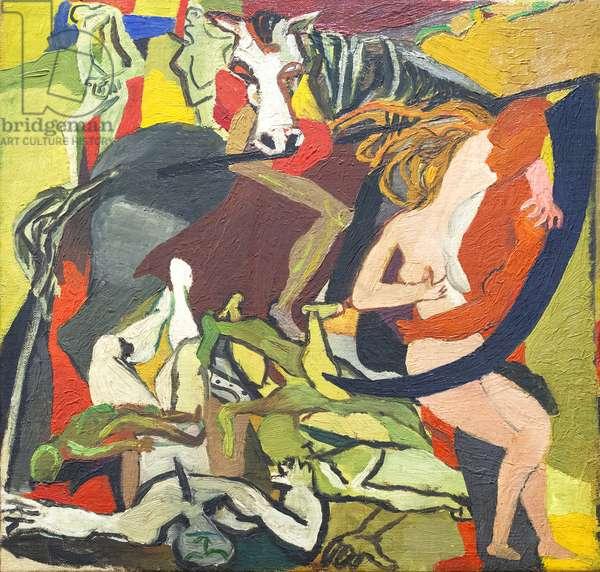 Triumph of Death, 1943 (oil on canvas)