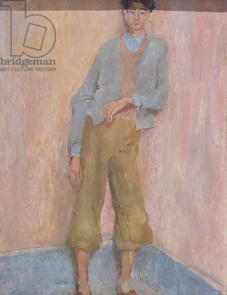 Portrait of Andrea Pirandello, 1940 (oil on panel)
