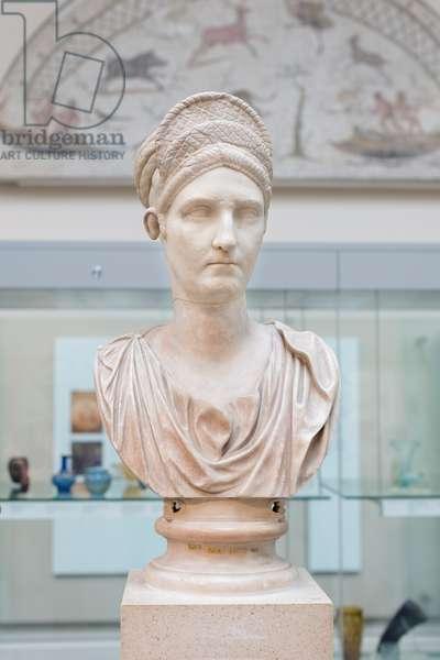 Head of Matidia, 120 AD