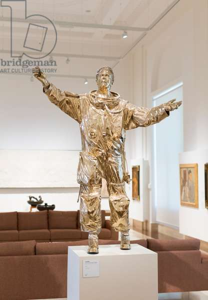 Man who directs the stars, 2015 (silicon bronze)