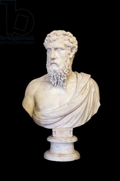 Portrait of Plato (marble)