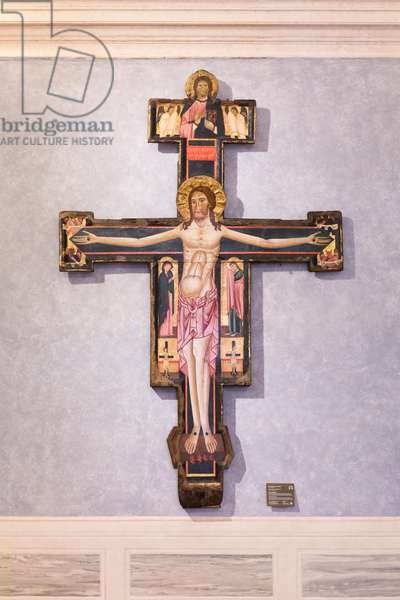 Painted cross, c.1250 (painting)