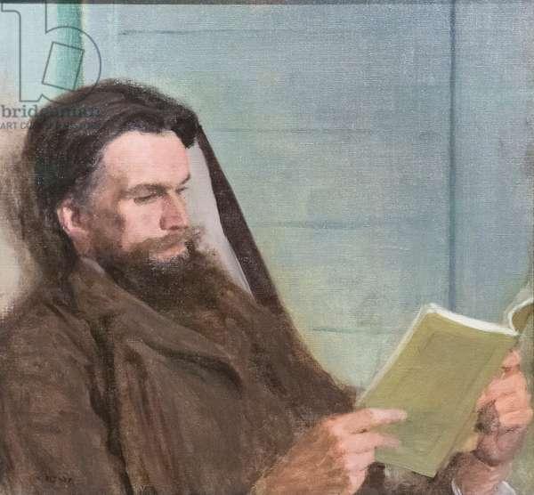 Henry Havelock Ellis, mid-late 1890s, (oil on canvas)