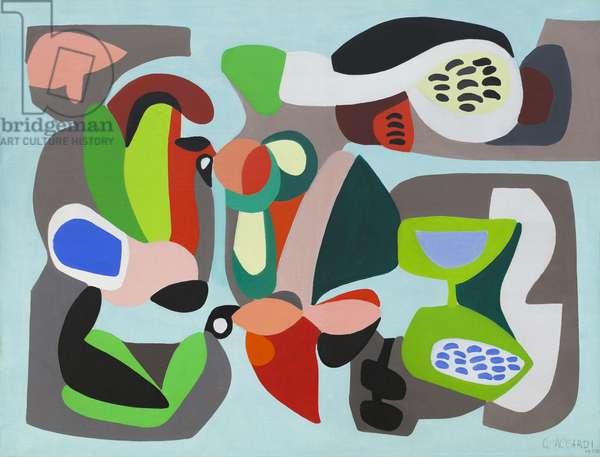Composition, 1950 (acrylic on canvas)