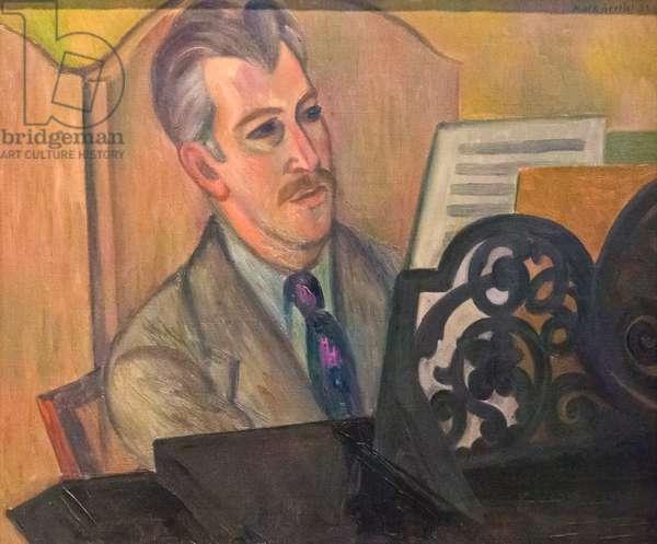 Sir Arthur Edward Drummond Bliss, 1932 (oil on canvas)