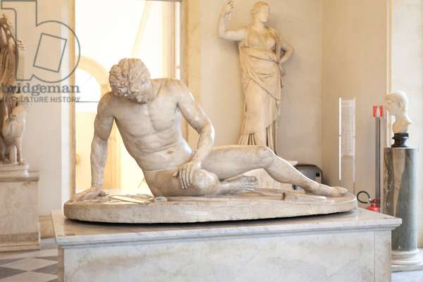 Statue of the Capitoline Gaul (marble)