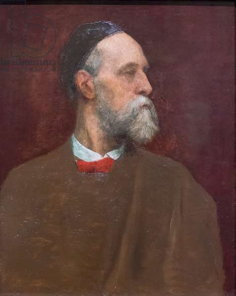 Self portrait, 1879 (oil on canvas)