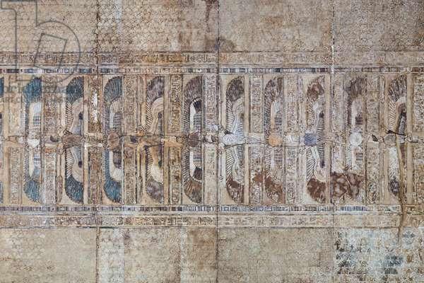 The ceiling of the roman Mammisi, temple of Hathor, Dendara, Egypt