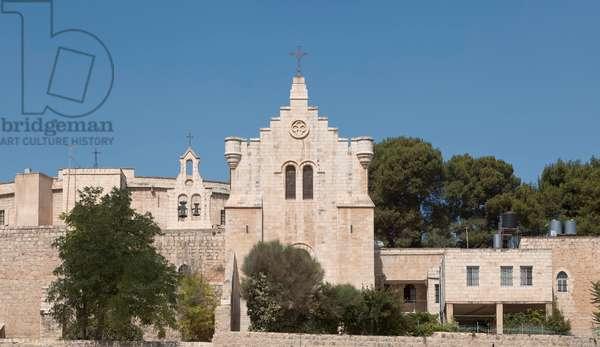 Carmelite convent, Bethlehem, Palestine (photo)