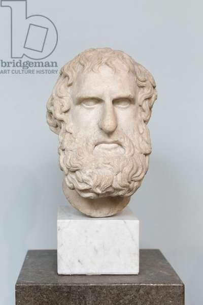 Head of Euripedes, c.300 BC