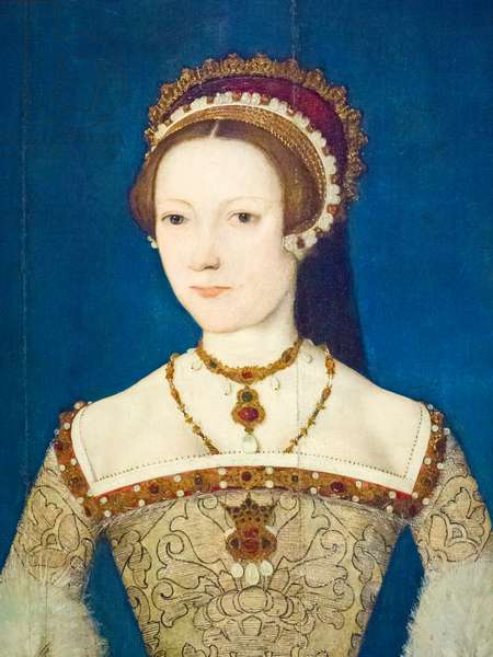 Catherine Parr, 1545 (oil on panel)