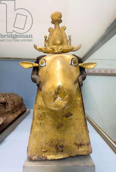 Sacred ram, Egyptian Museum, Cairo, Egypt