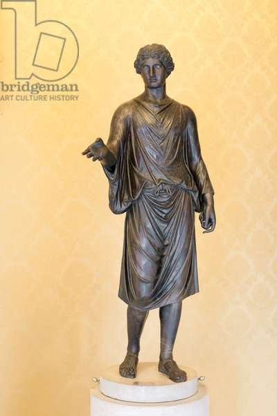 "Statue of a Camillus (young cult officiant), also known as the ""Zingara"" (""Gipsy"") (bronze)"