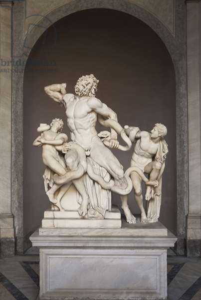 The Laocoon Group, c.25 BC (marble)