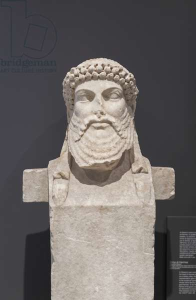 Herm of Hermes, second century AD, national museum of Rome (museo nazionale romano), Rome, Italy