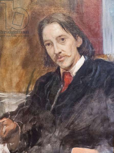 Robert Louis Stevenson, 1887 (oil on canvas)