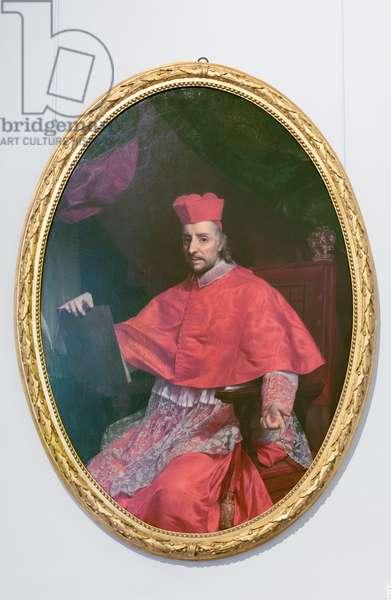 Portrait of cardinal Vincenzo Maria Altieri, 1780 circa (oil on canvas)