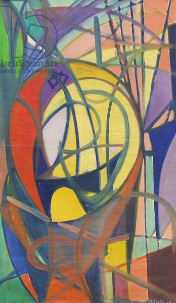 Flowers in the Room, 1947 (oil on canvas)