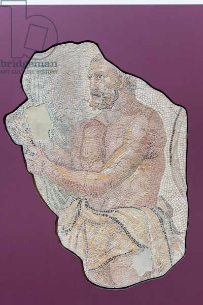 Hercules mosaic, about 200 AD