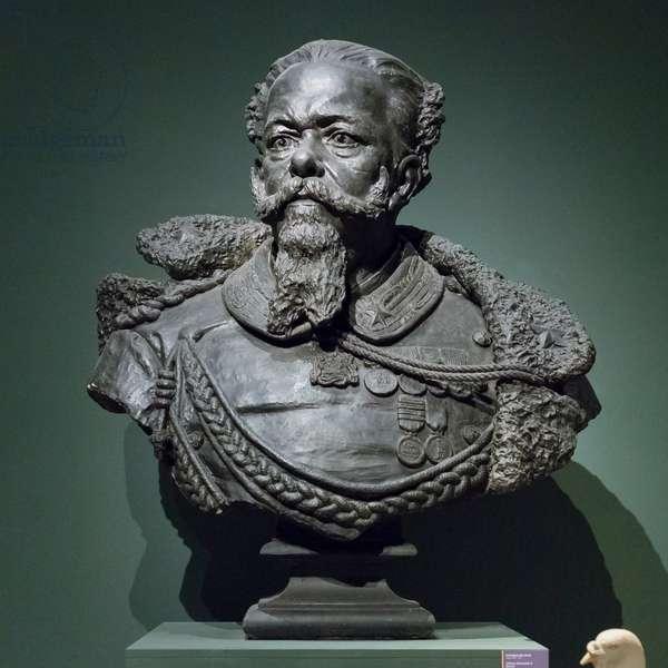 Victor Emmanuel II of Savoy, 1878, Raffaele Belliazzi (bronze, plaster)
