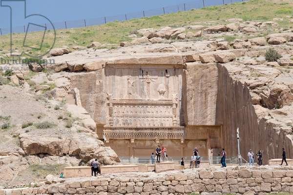 The tomb of Artaxerxes II, Persepolis, Iran (photo)